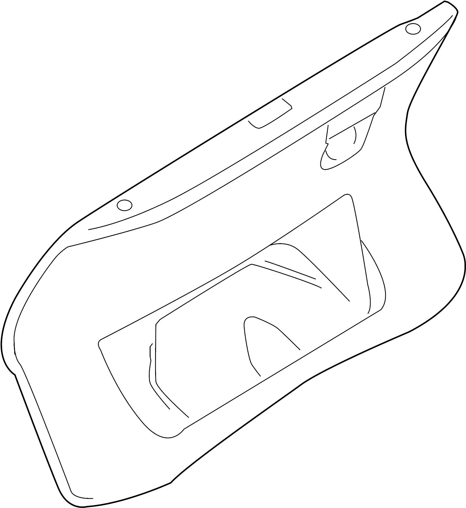 2006 Audi A6 Trim Panel For Hatch Gate