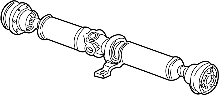 2003 audi s8 propeller shaft for vehicles with extended