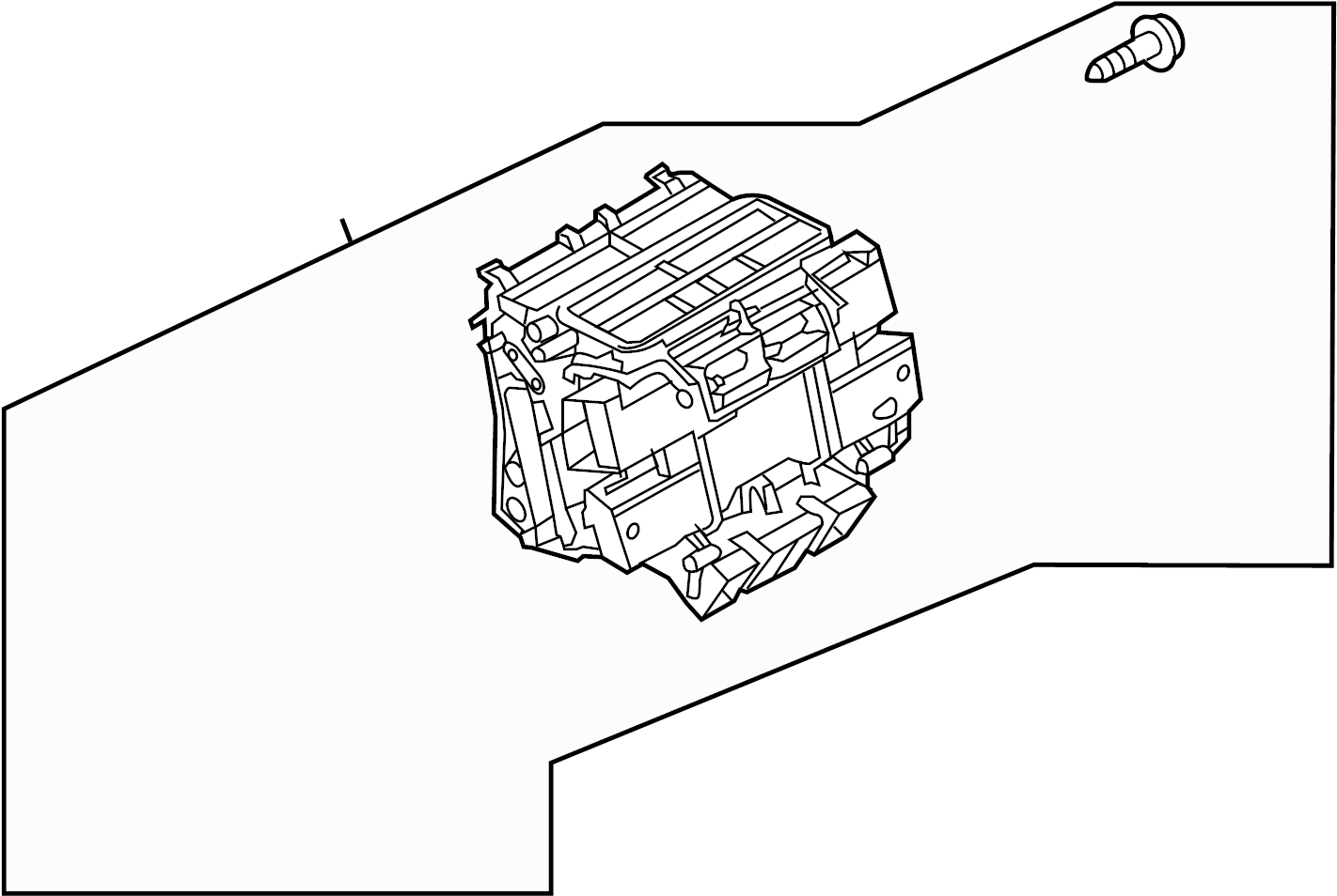 Pontiac Solstice Cooling System moreover Pontiac G5 Horn Location furthermore 2004 Audi Allroad Wiring Diagram further P0101 Pontiac Solstice Wiring Diagrams in addition Junction Block Wiring Harness Instrument Panel Fuse Box 25781327. on pontiac solstice fuse box location