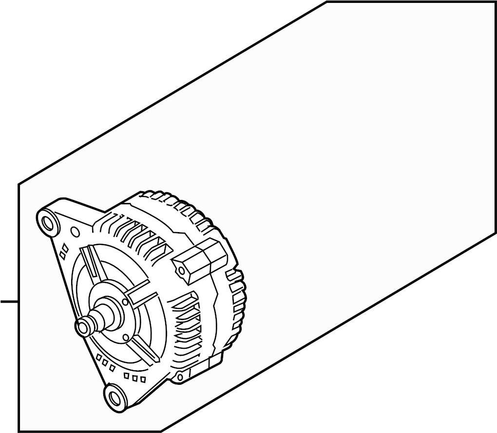 079903021mx Audi Alternator Water Cooled Generators