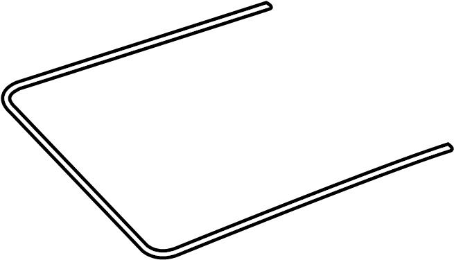 4l0877439a Audi Gasket Frame For Sliding Roof Opening