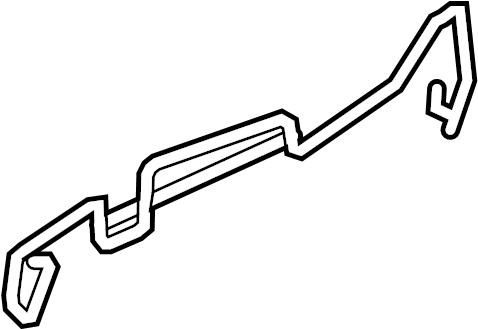 Audi Sq5 Retainer Retaining Clip Seat Front Left