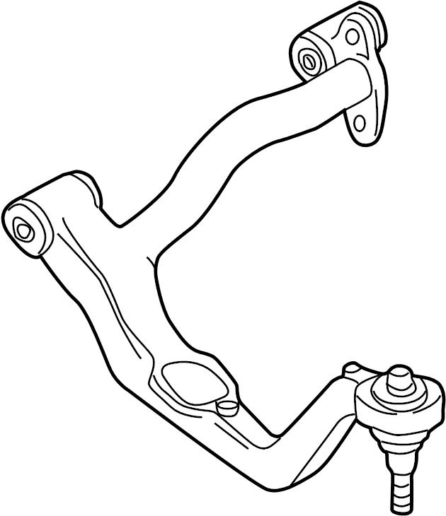 701407022B - Audi Track Control Arm. WISH BONE