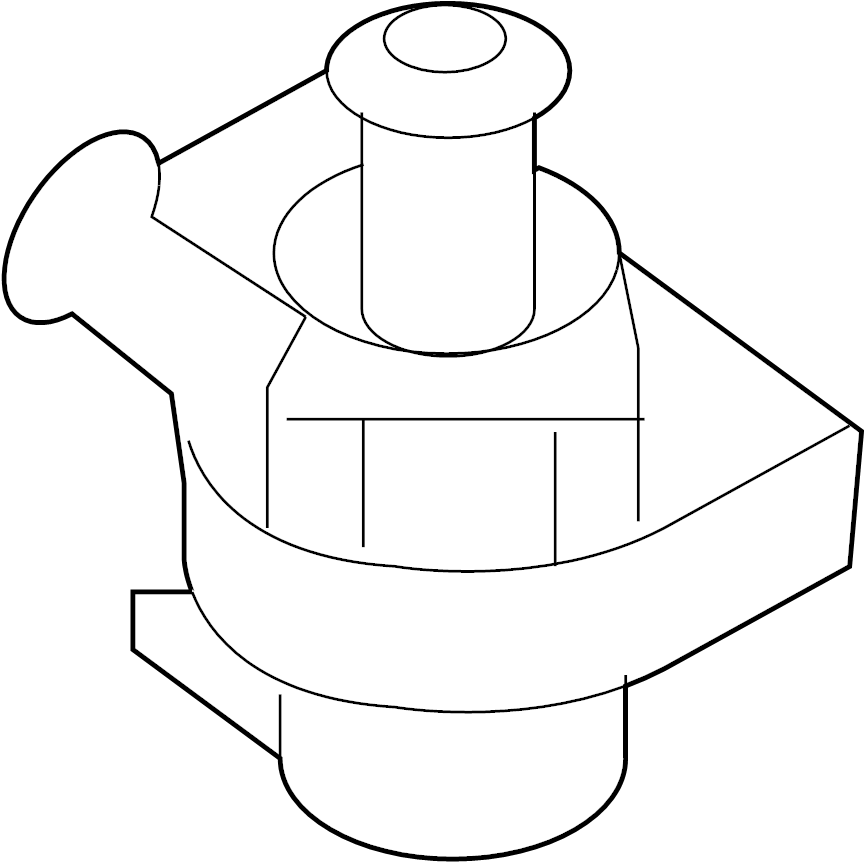 Audi Water Pump Coolant Thermostat Housing
