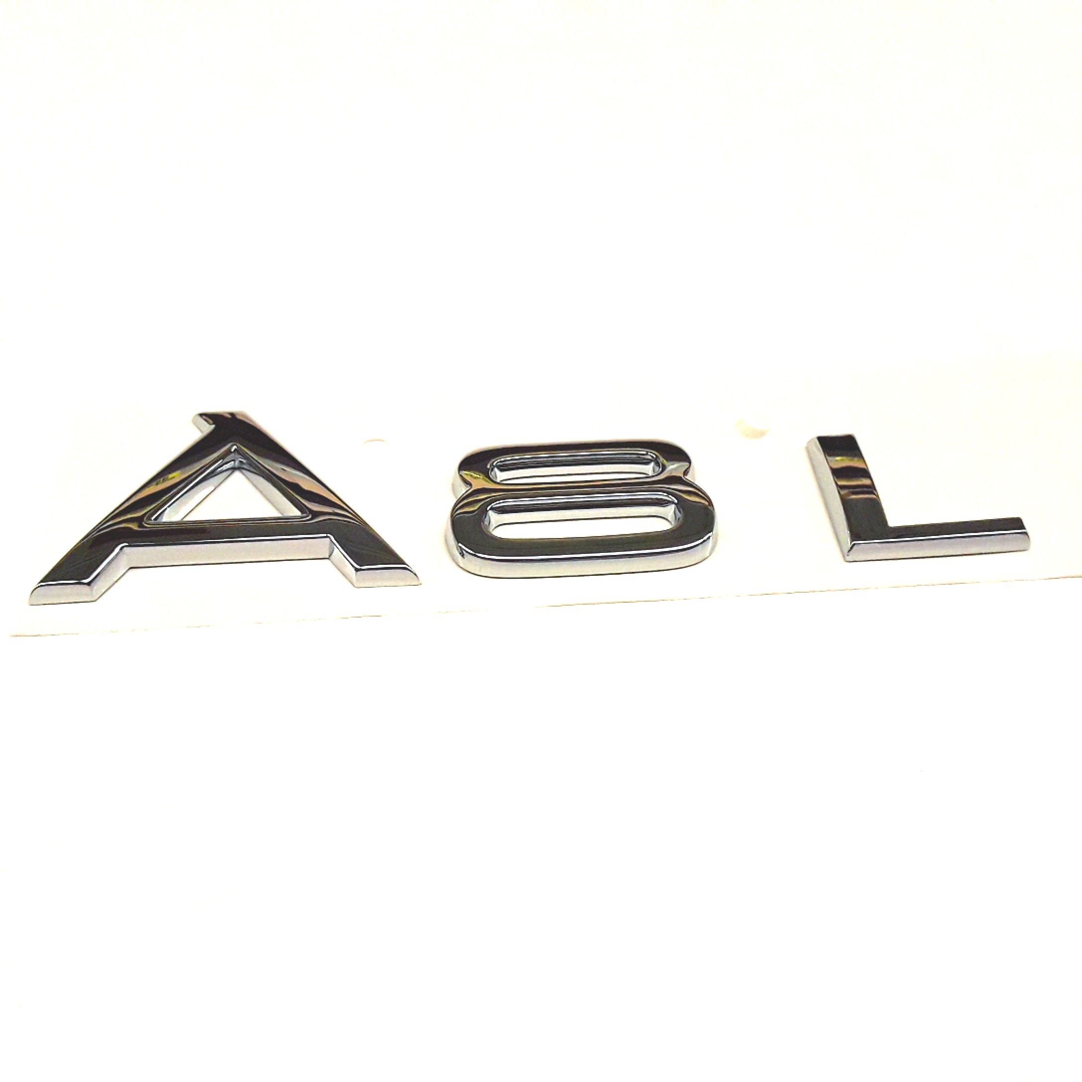 Audi A8 Chrome. SILVER. Respectively, Displacement